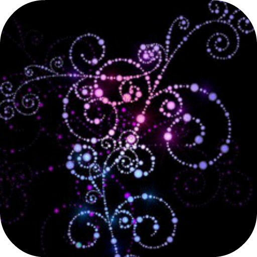 Abstract Colorful Flowers Live Wallpaper