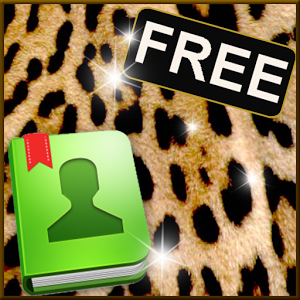 GO Contacts EX Theme Leopard