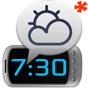 WakeVoice Trial alarm clock for Blackberry 10 and Playbook